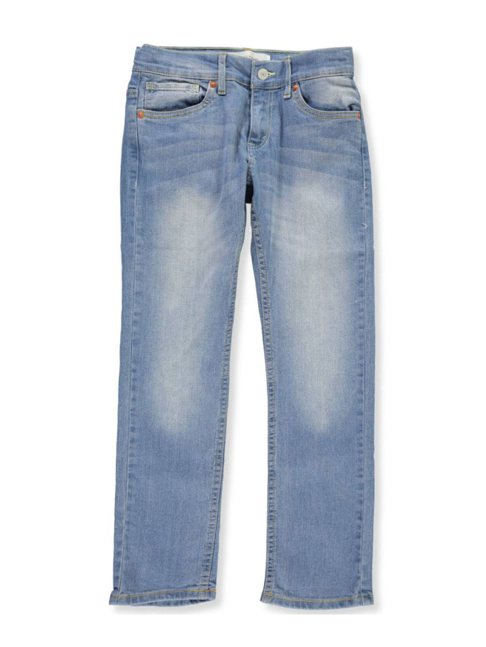 Boys' Faded Denim Jeans