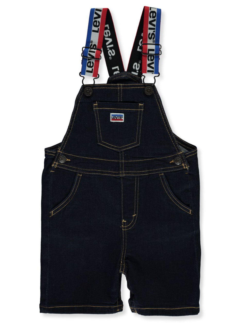 Boys Medium Blue Overalls and Shortalls