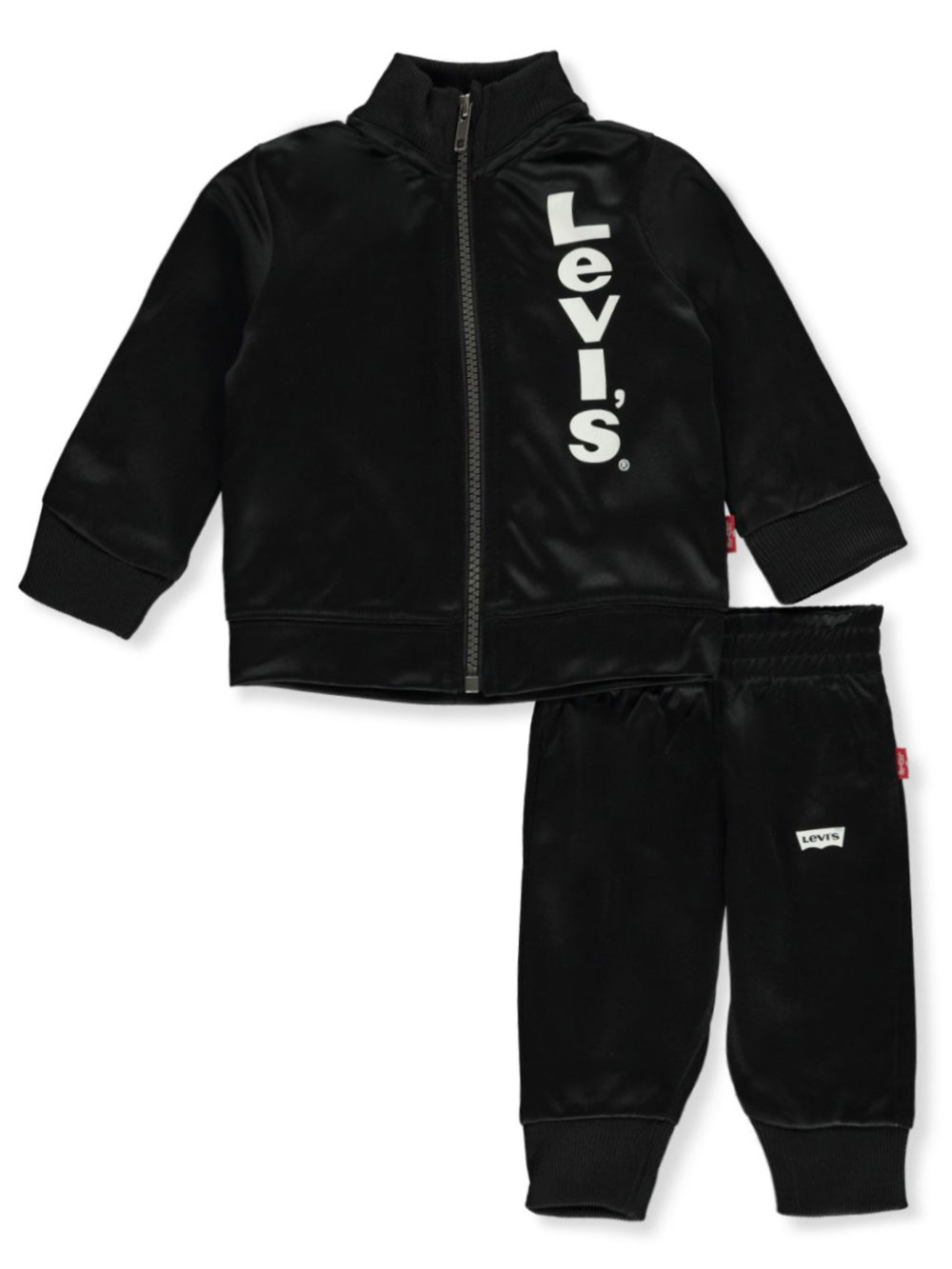 Boys Black and Red Active Sets