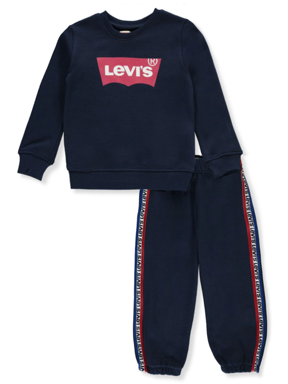 Boys' Logo Taped 2-Piece Sweatsuit Outfit