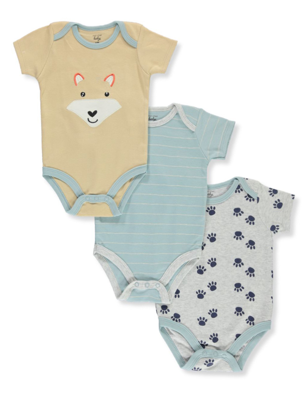 Baby Boys' 3-Pack Bodysuits