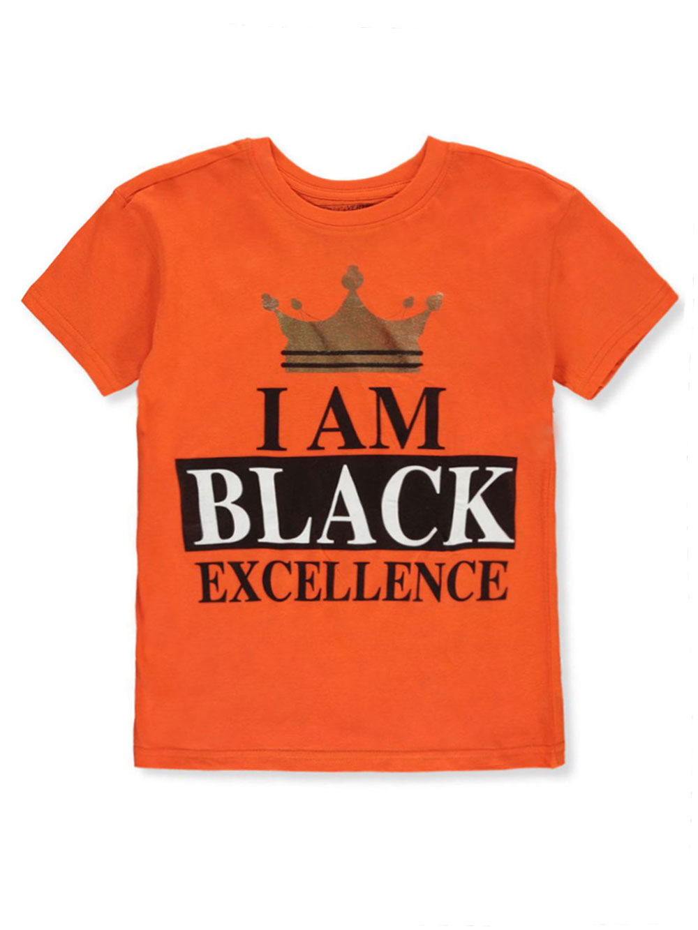 Boys' Black Excellence T-Shirt