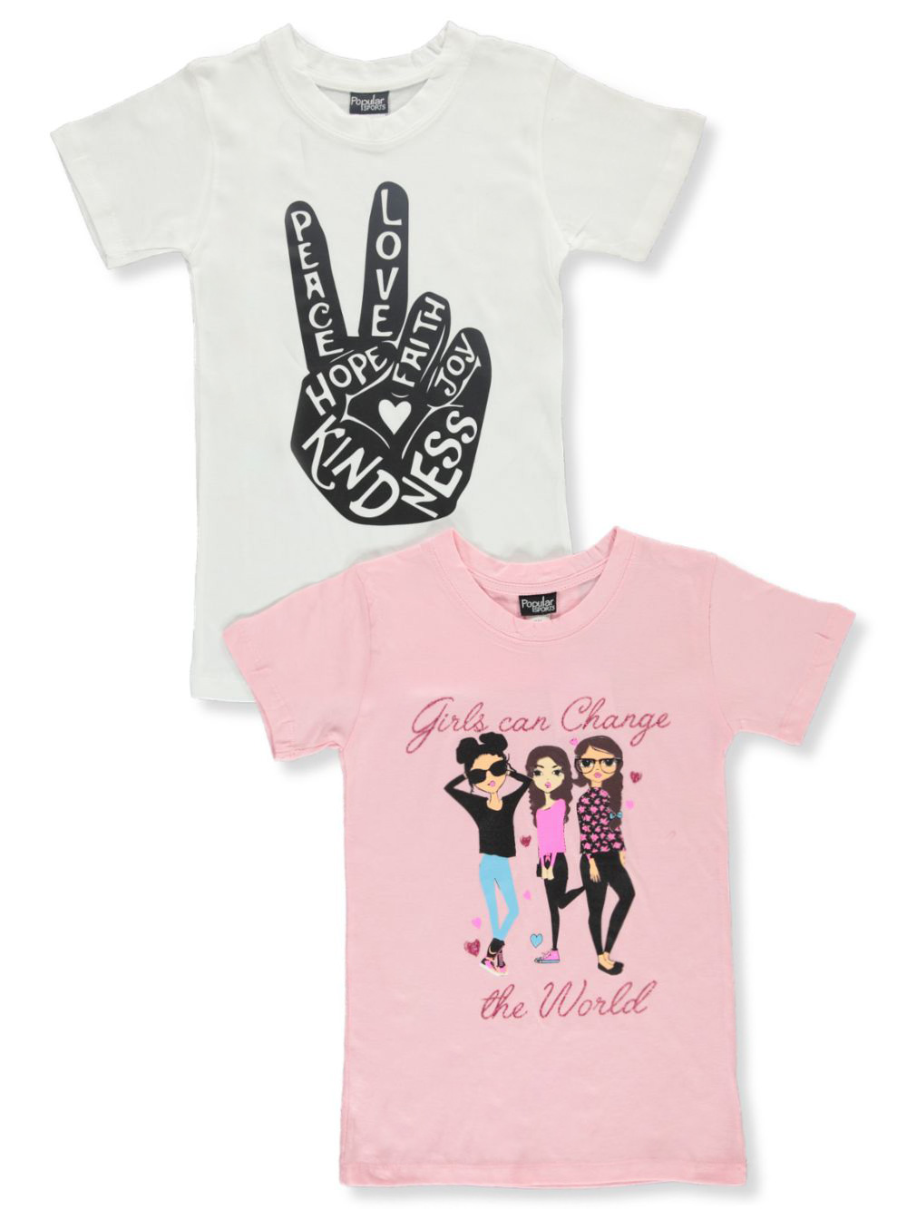 Girls' 2-Pack T-Shirts
