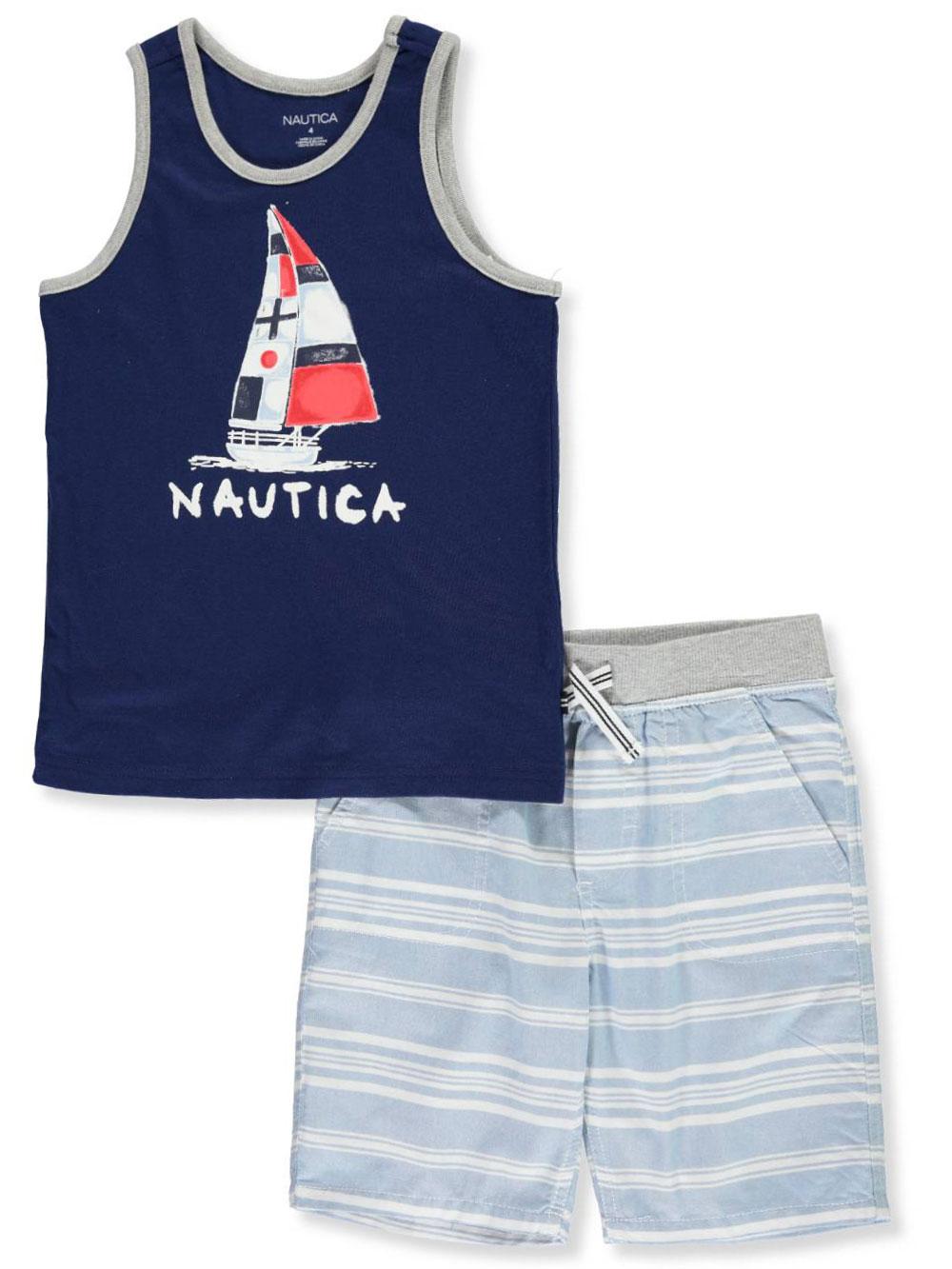Nautica Boys/' 2-Piece Shorts Set Outfit