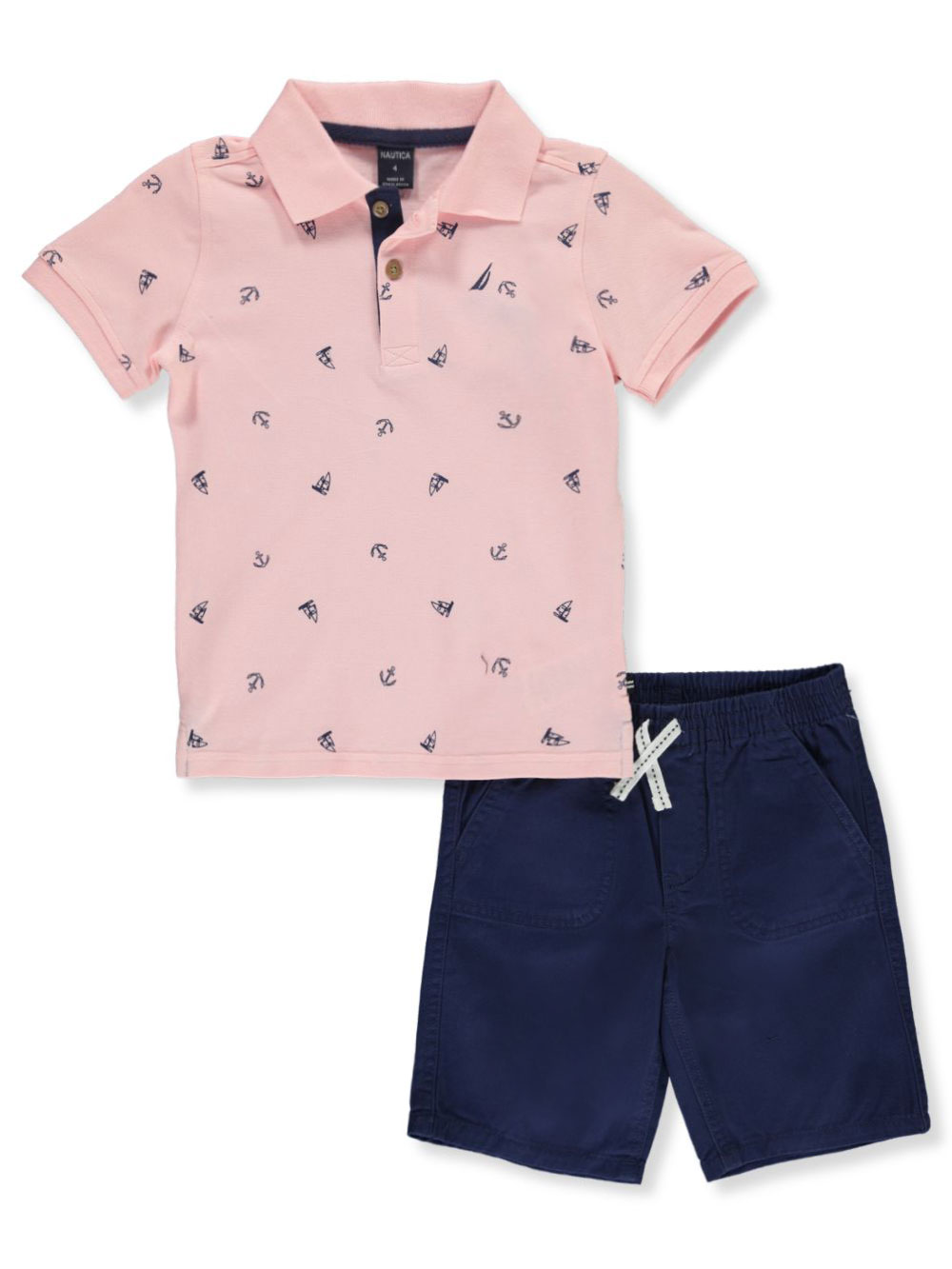 Anchors 2-Piece Shorts Set Outfit