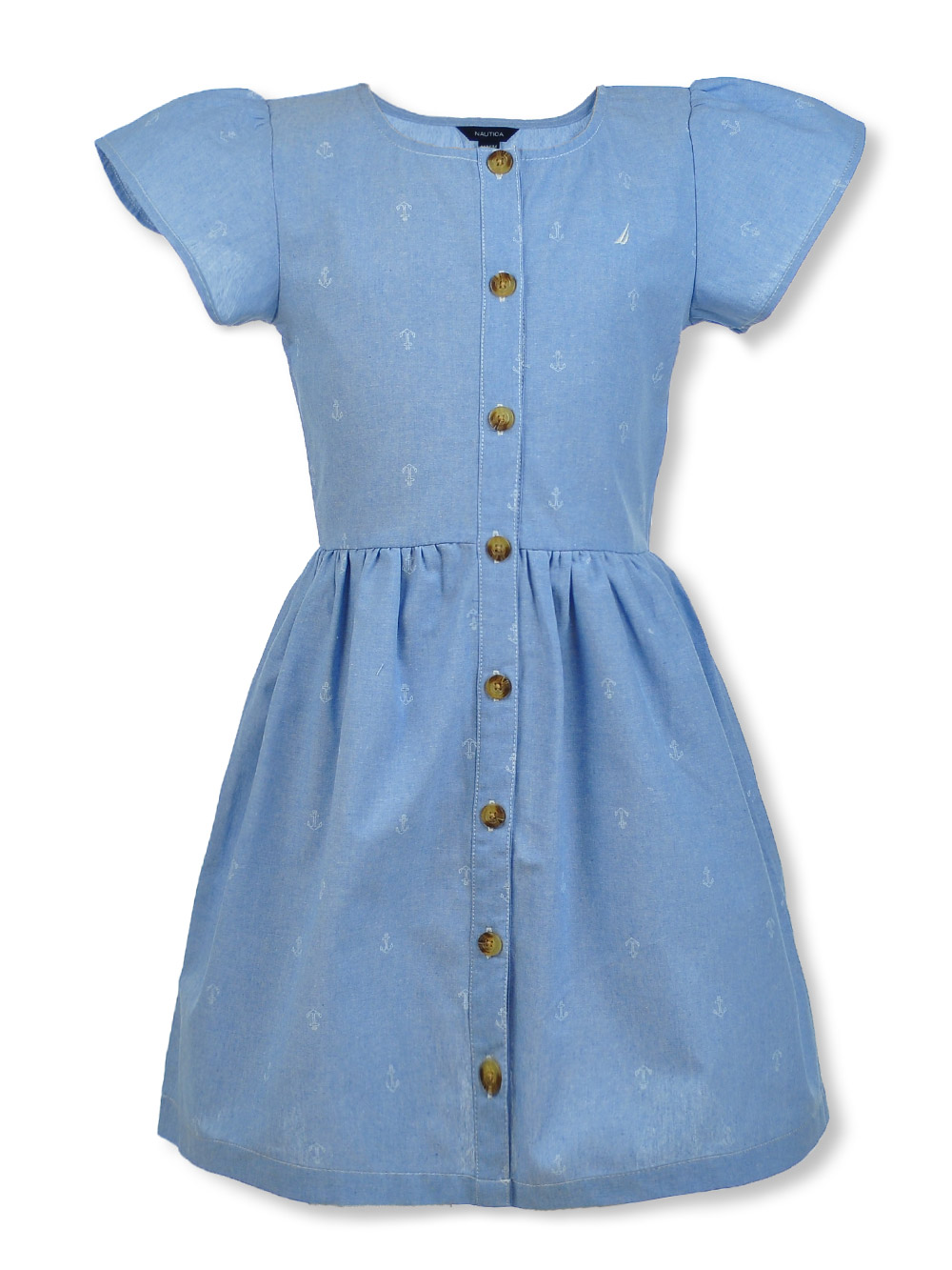 Casual Dresses Chambray Construction