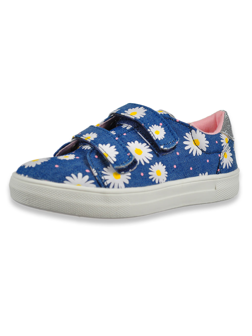 Girls' Floral Sneakers