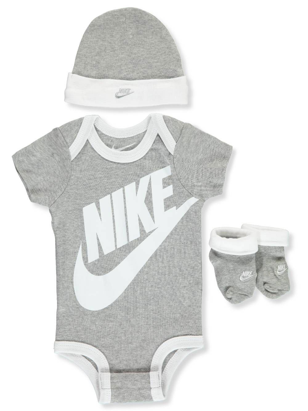 Baby Boys' Hat and Booties Set