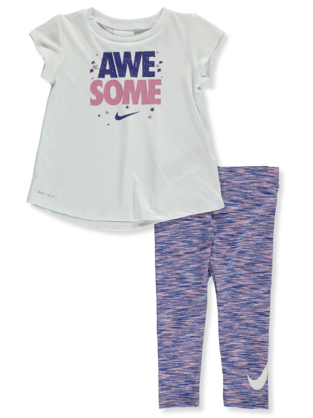 Baby Girls' 2-Piece Leggings Set Outfit
