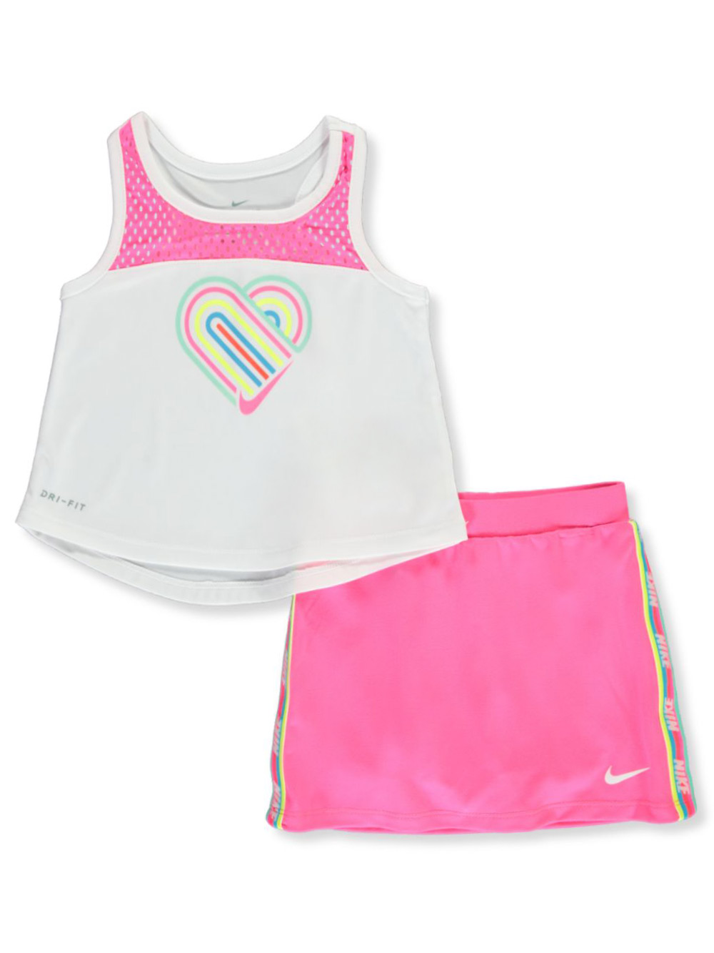 Girls' 2-Piece Skorts Set Outfit