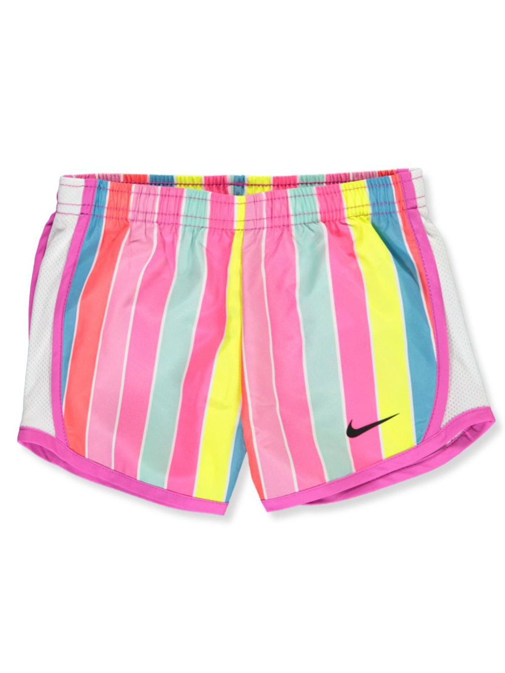 Girls' Striped Performance Shorts