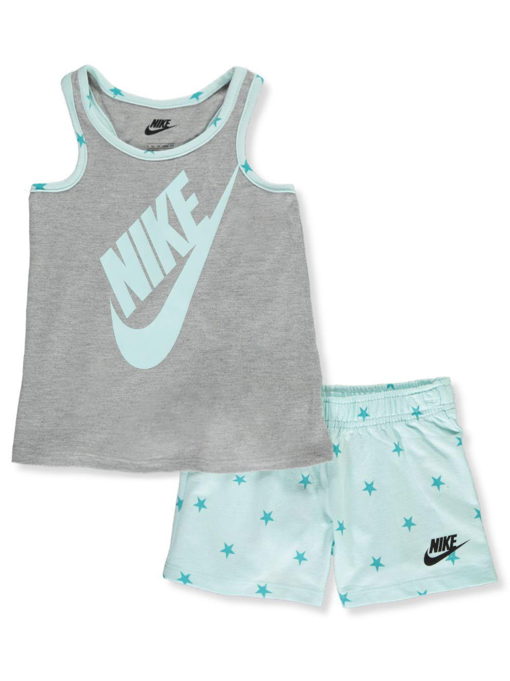 Girls' All-Star 2-Piece Shorts Set Outfit