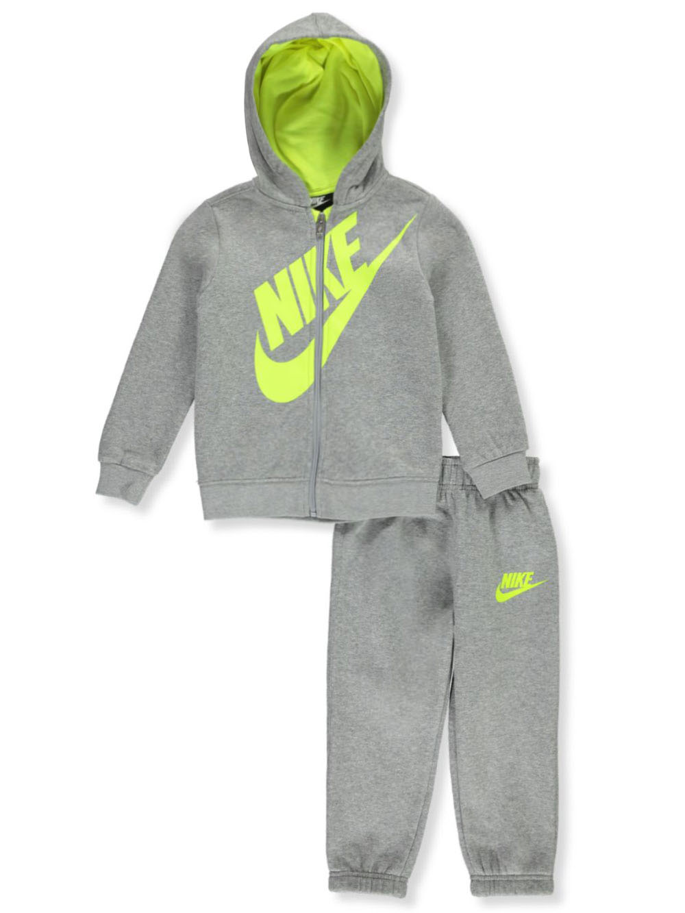 Fleece 2-Piece Sweatsuit Pants Set Outfit