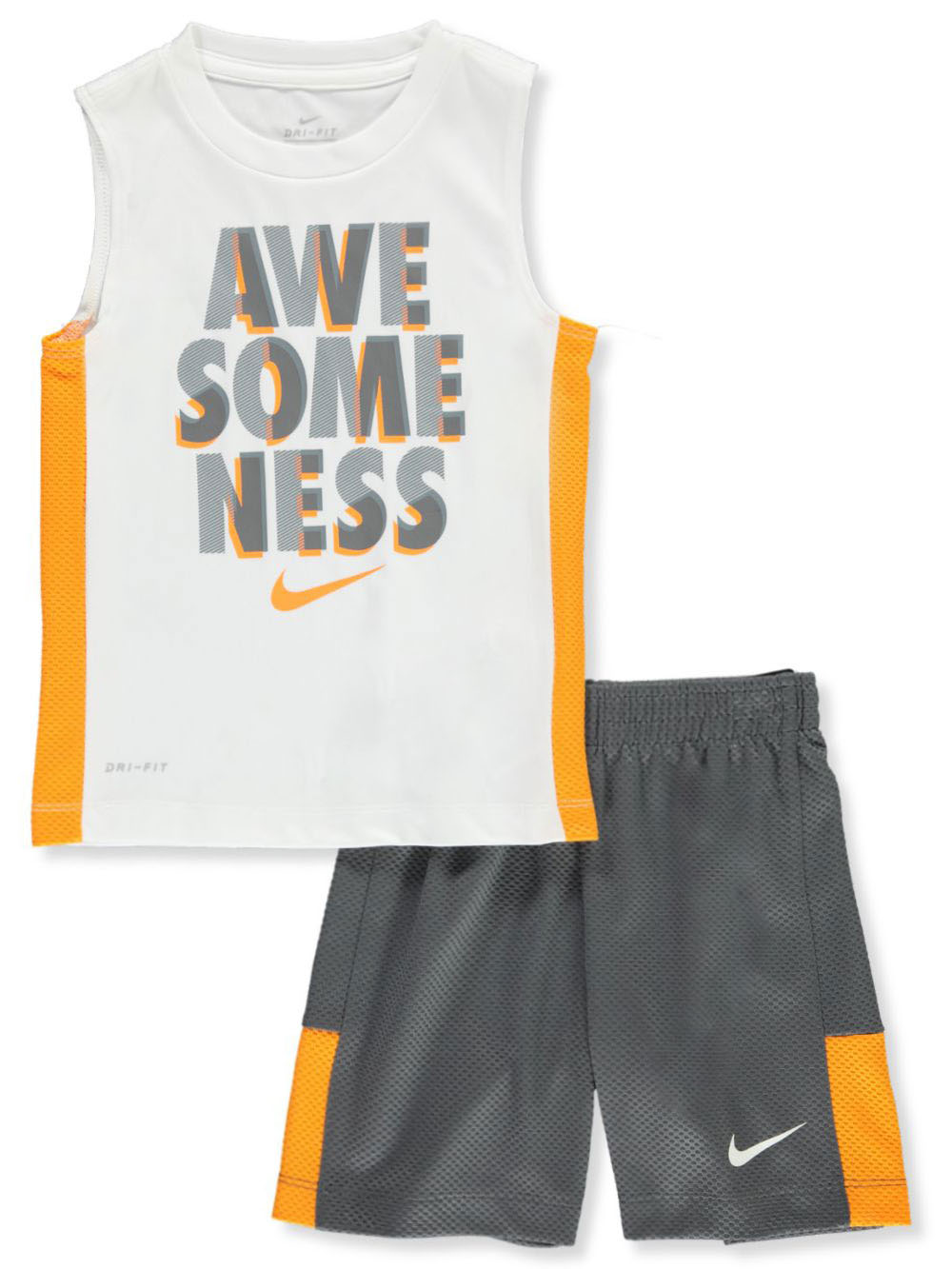 Boys' Awesomeness 2-Piece Shorts Set Outfit