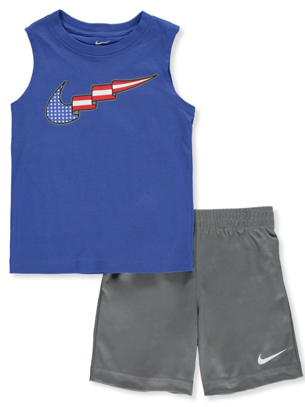 Boys' Americana 2-Piece Shorts Set Outfit