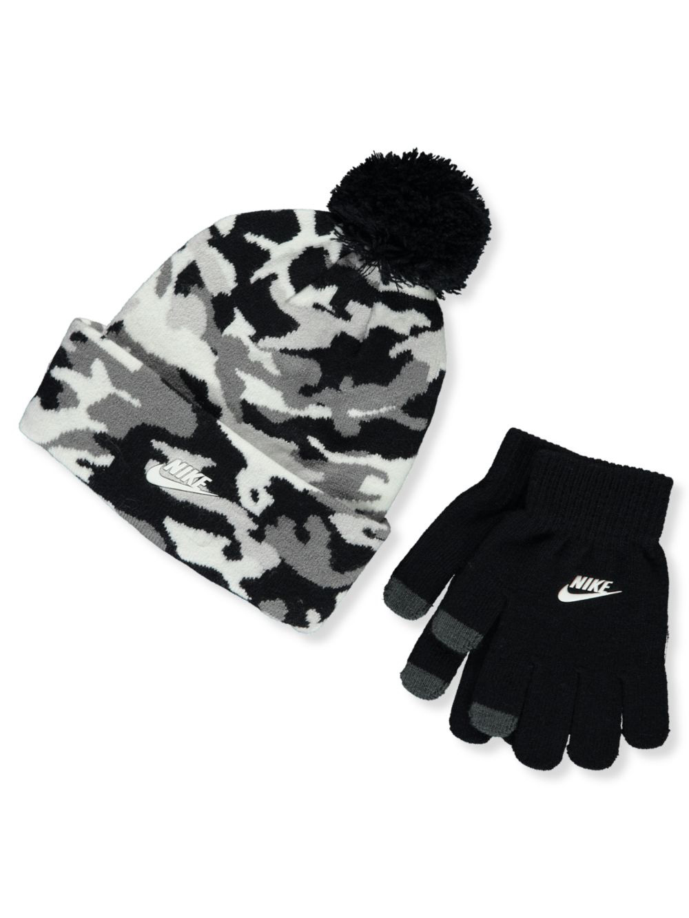Boys' 2-Piece Beanie and Gloves Set