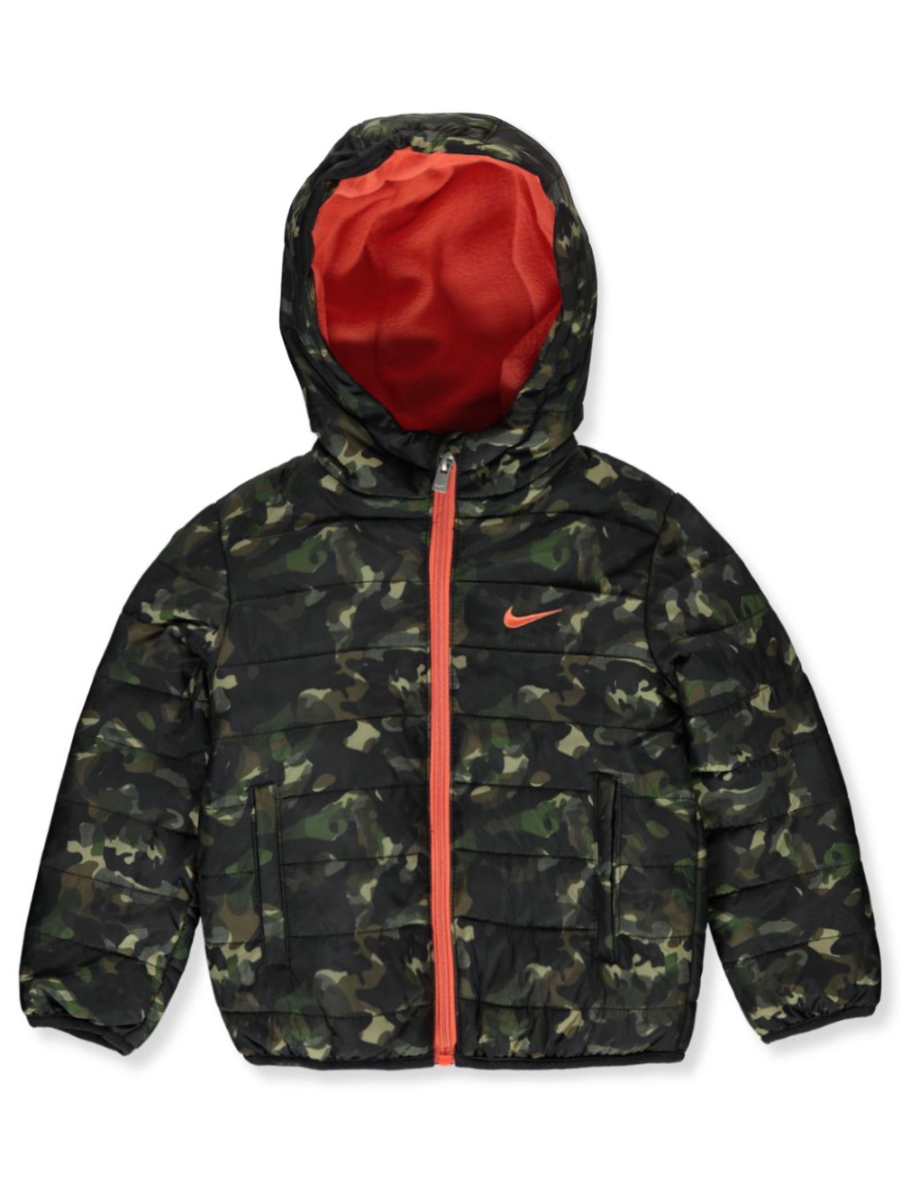 Boys' Insulated Hooded Jacket