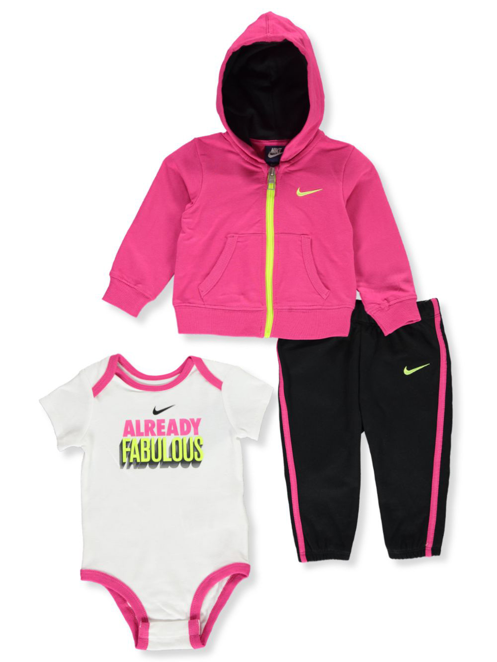 Girls 3-Piece Joggers Set Outfit