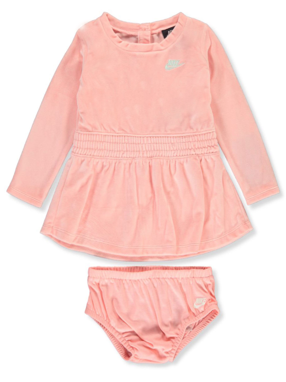 Girls Coral Casual Dresses