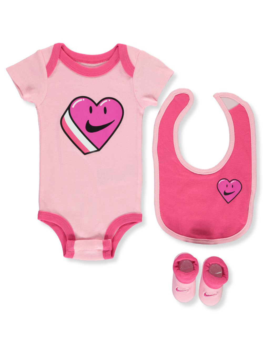 Baby Girls' 3-Piece Layette Gift Set