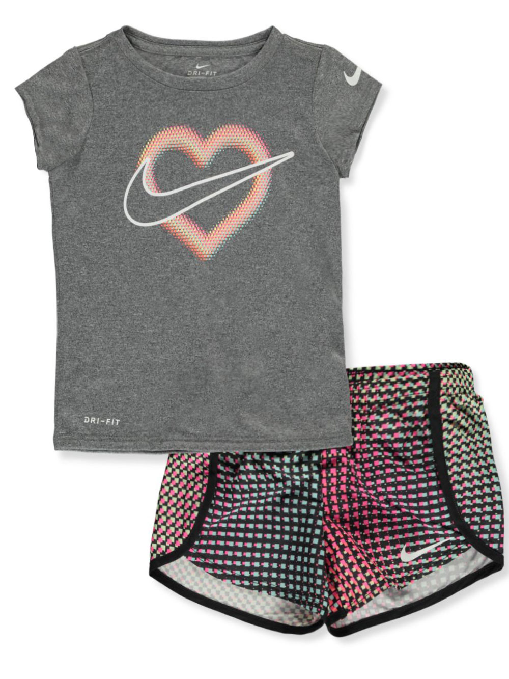 Girls' 2-Piece Shorts Set Outfit