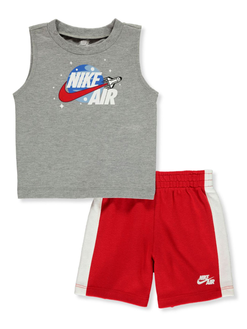 Boys University Red Short Sets