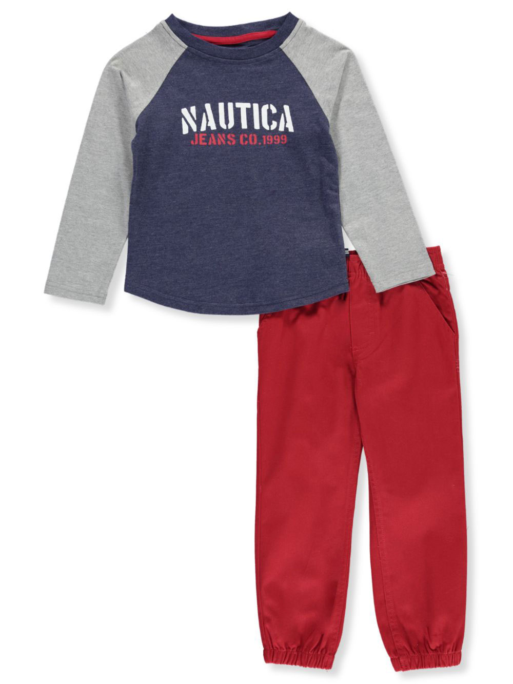 Nautica Boys Toddler 2 Pieces Pants Set