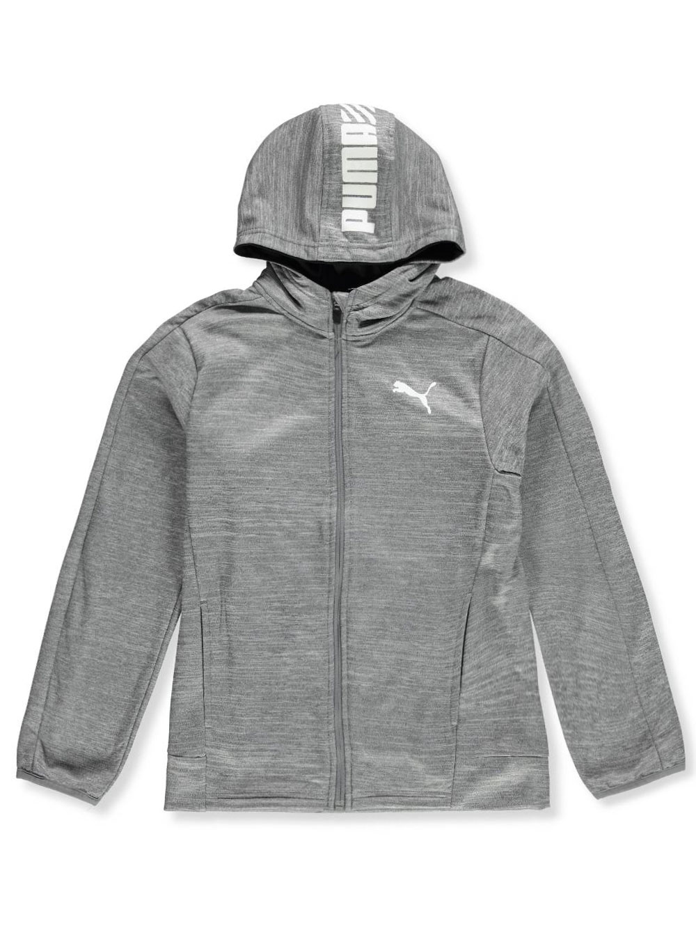 62a17cbe5c6a Boys' Tricot Hoodie by Puma in Charcoal heather
