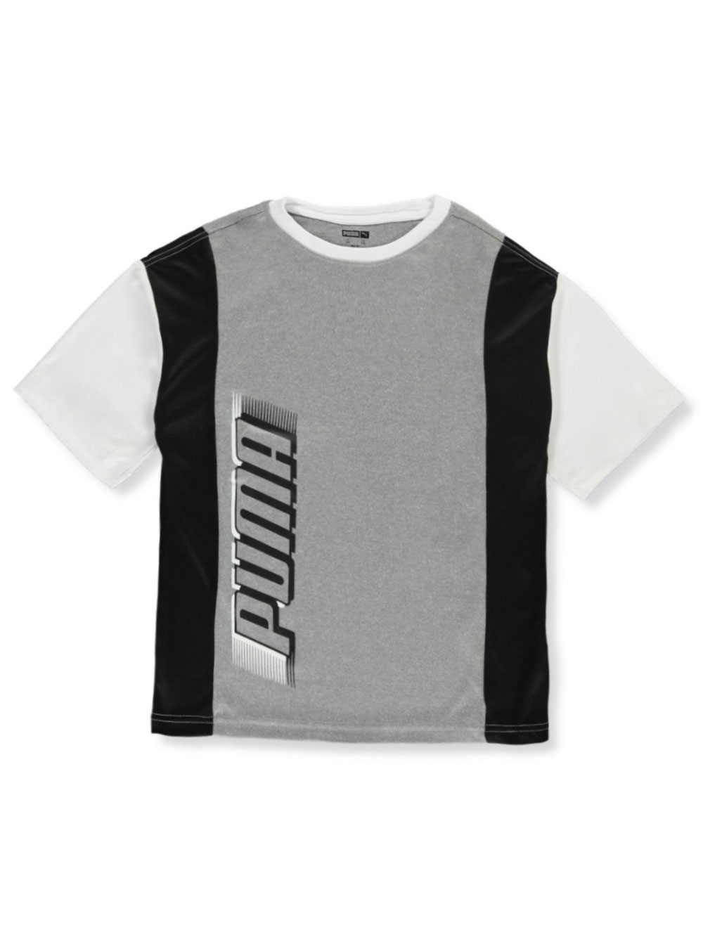 Boys Heather Gray and Black T-Shirts