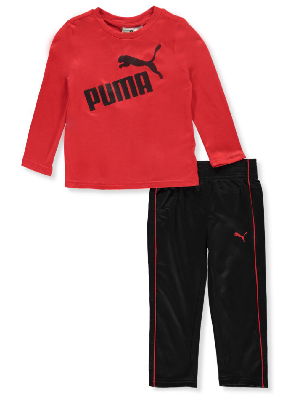 Boys Red Pant Sets