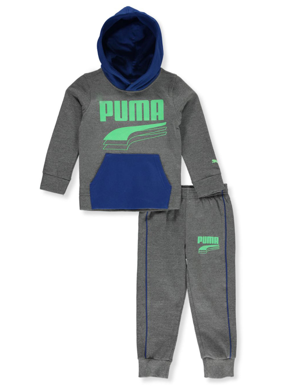 Boys' Layer Logo 2-Piece Sweatsuit Outfit