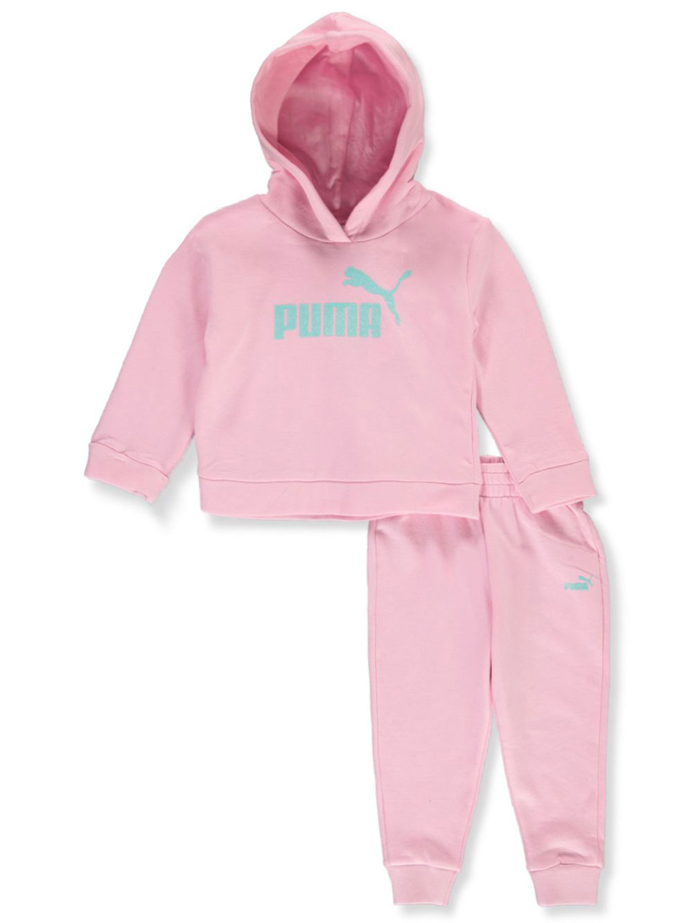Classic Logo 2-Piece Sweatsuit Outfit