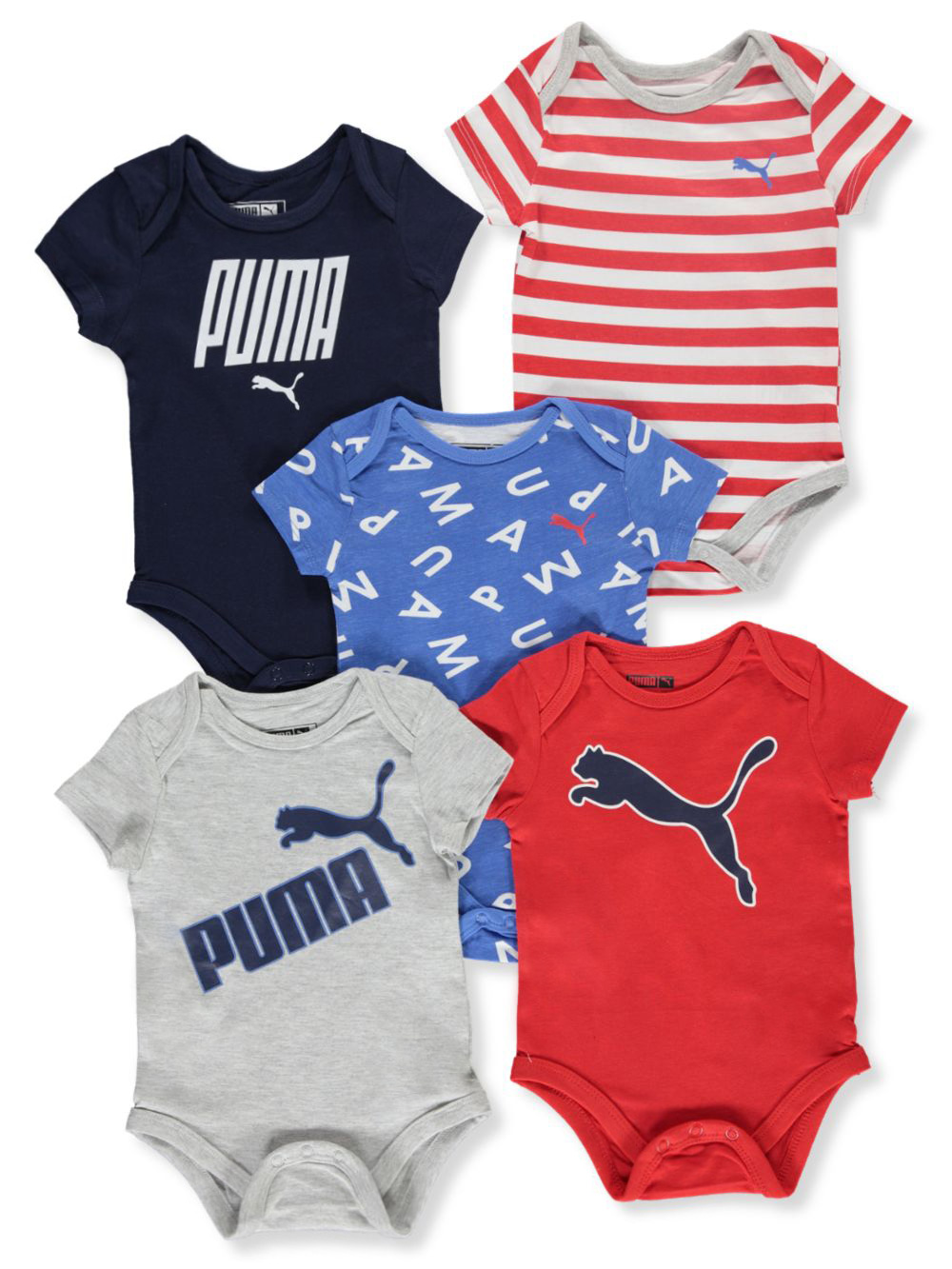 Boys' 5-Pack Bodysuits