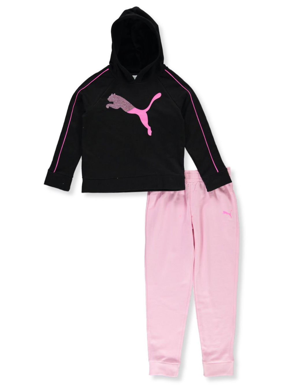 Girls Black and Pink Sets