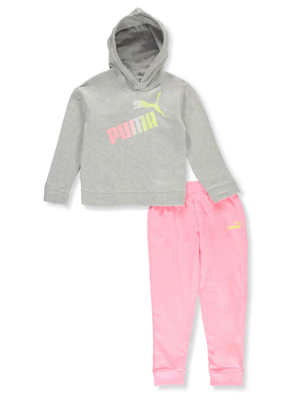 Girls Charcoal Gray Sets
