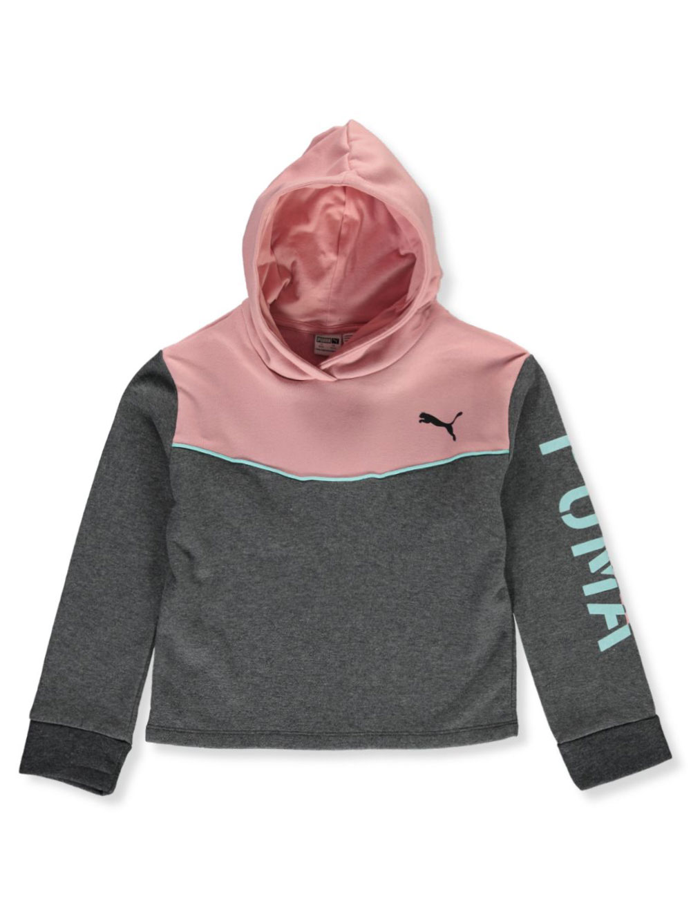 Girls Medium Gray Hoodies