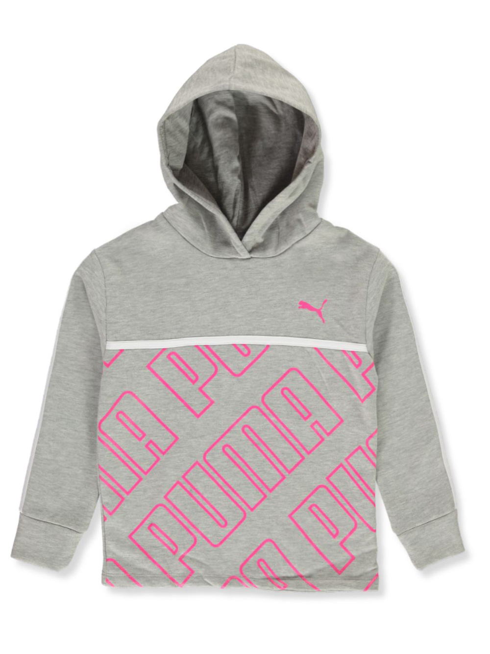 Girls Charcoal Gray Hoodies