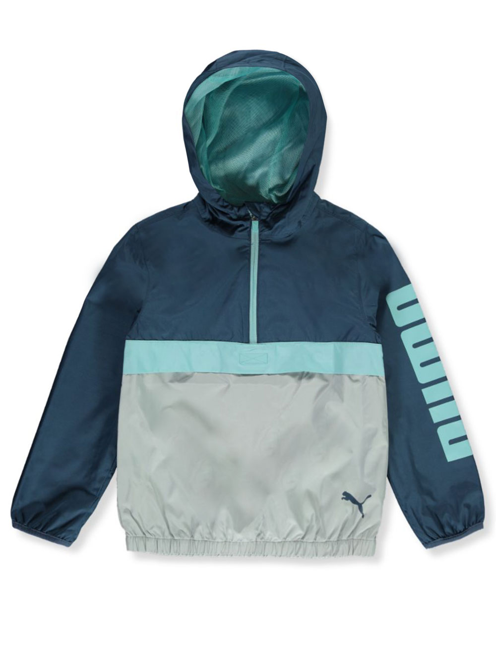 Boys' Hooded Zip Windbreaker Jacket