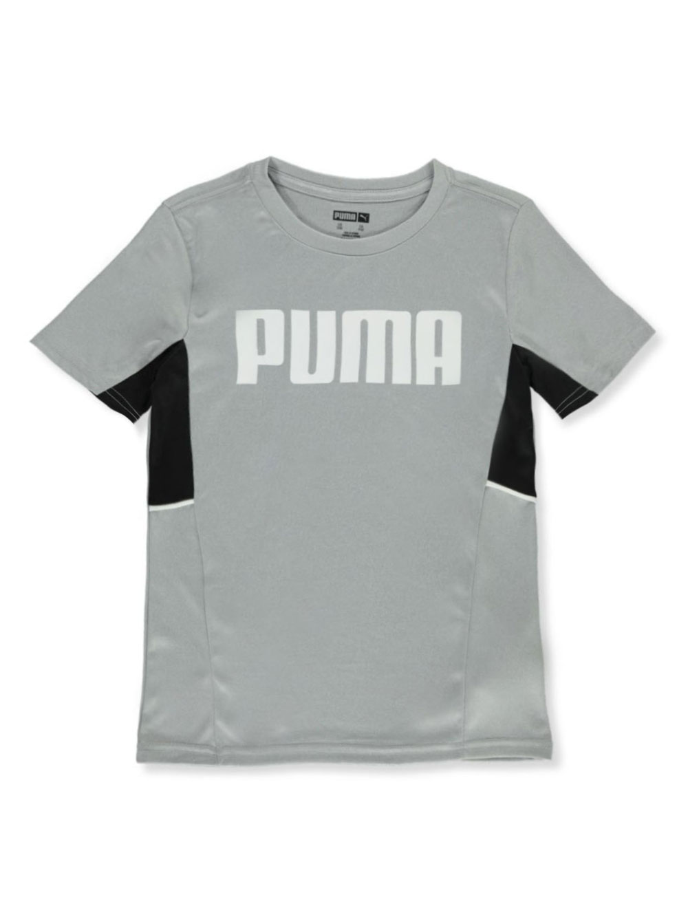 Boys Charcoal Gray T-Shirts