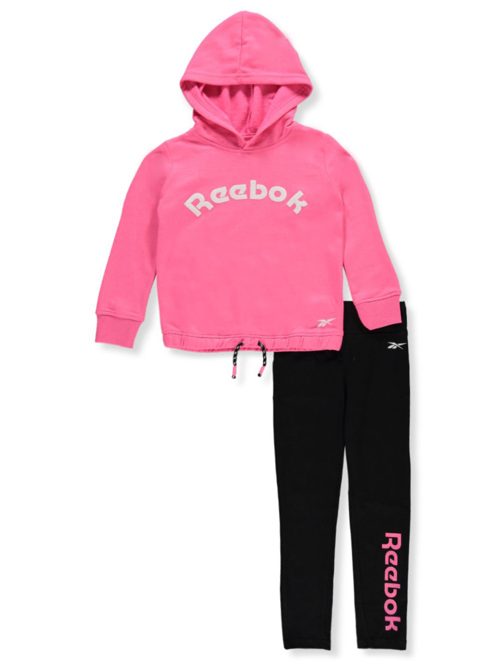 Reebok Girls' 2-Piece Leggings Set Outfit