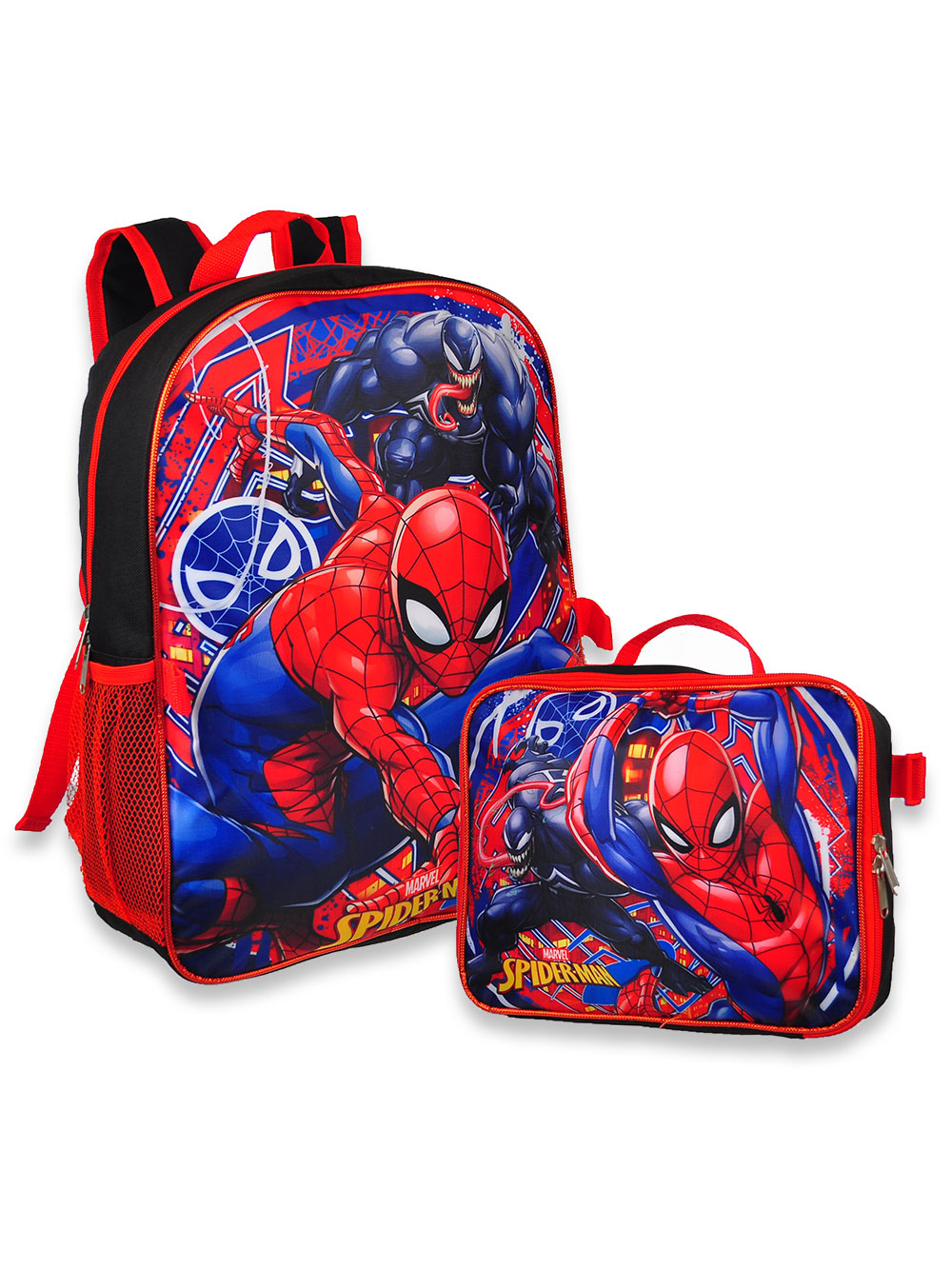 Backpack with Lunchbox