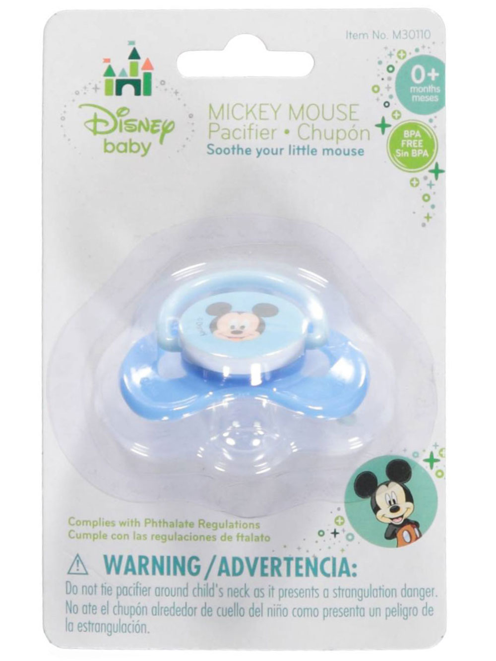 Baby Mickey Pacifier