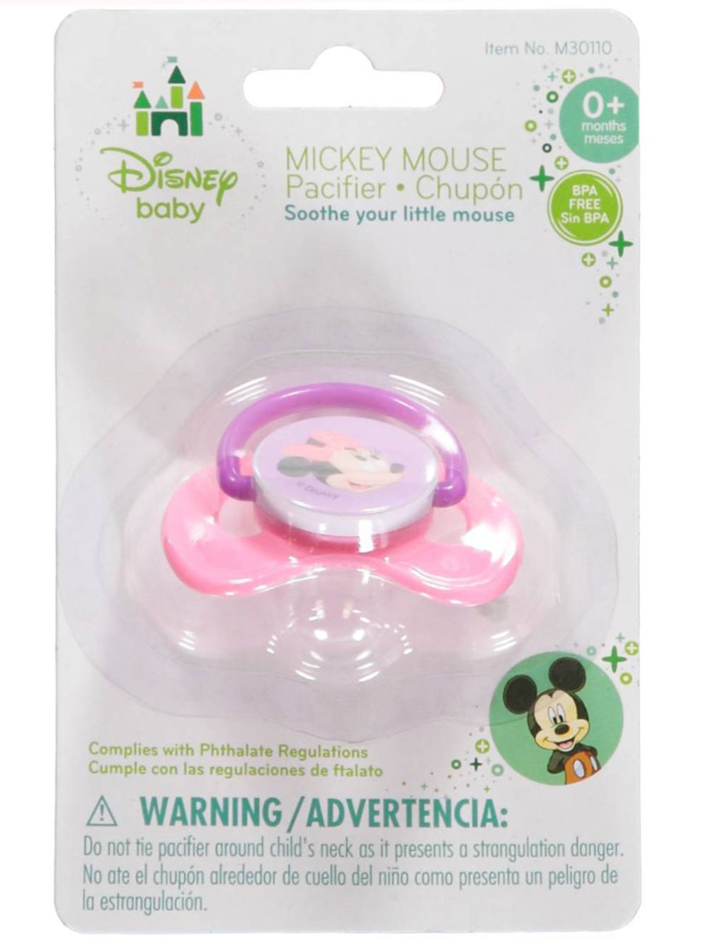 Baby Minnie Pacifier