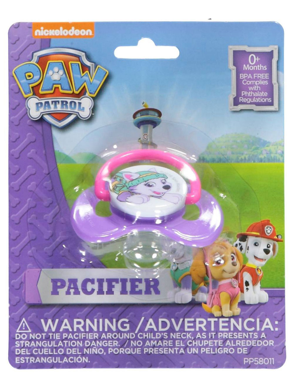 Paw Patrol Pacifiers
