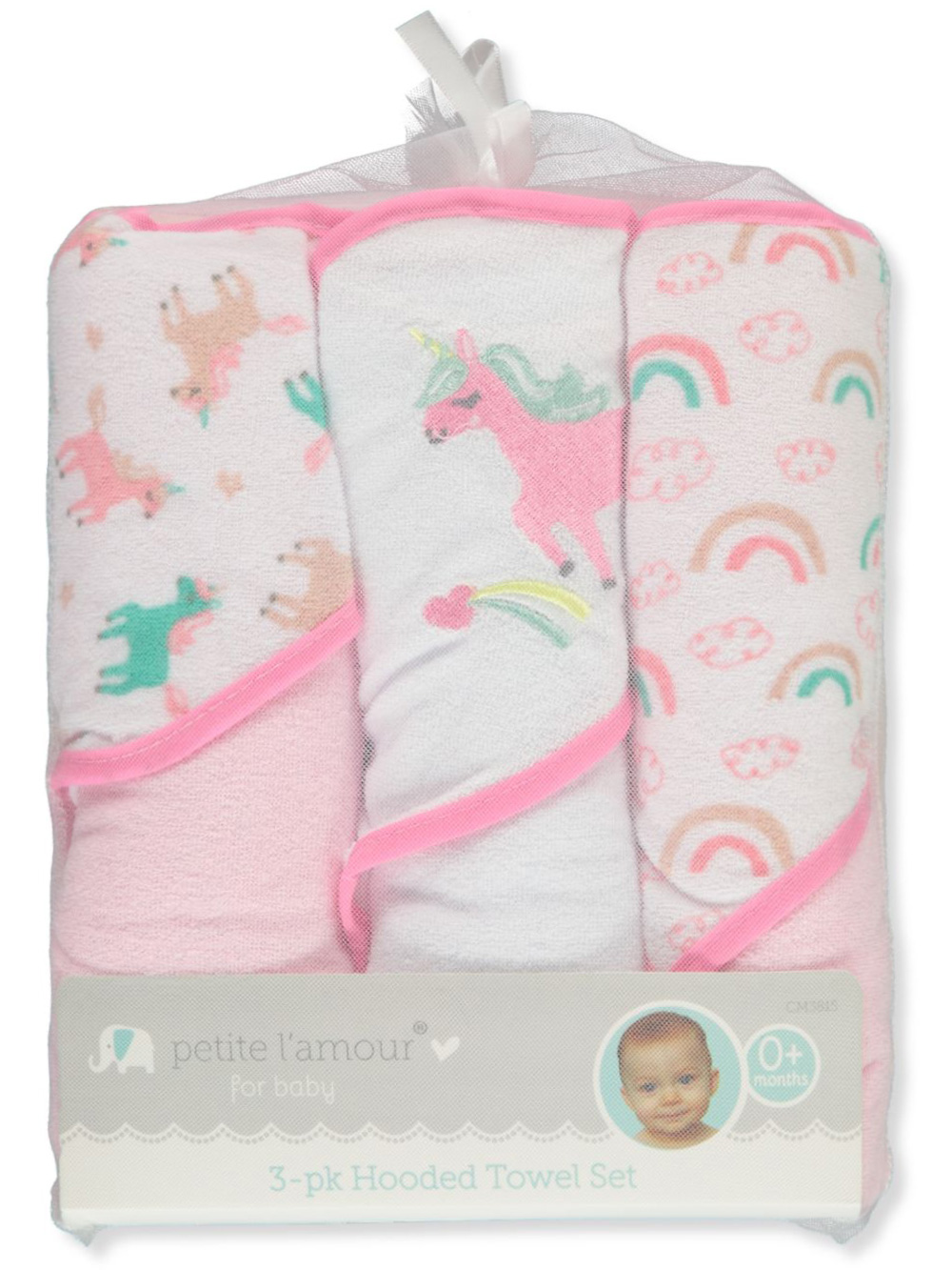 Towels 3-Pack Hooded