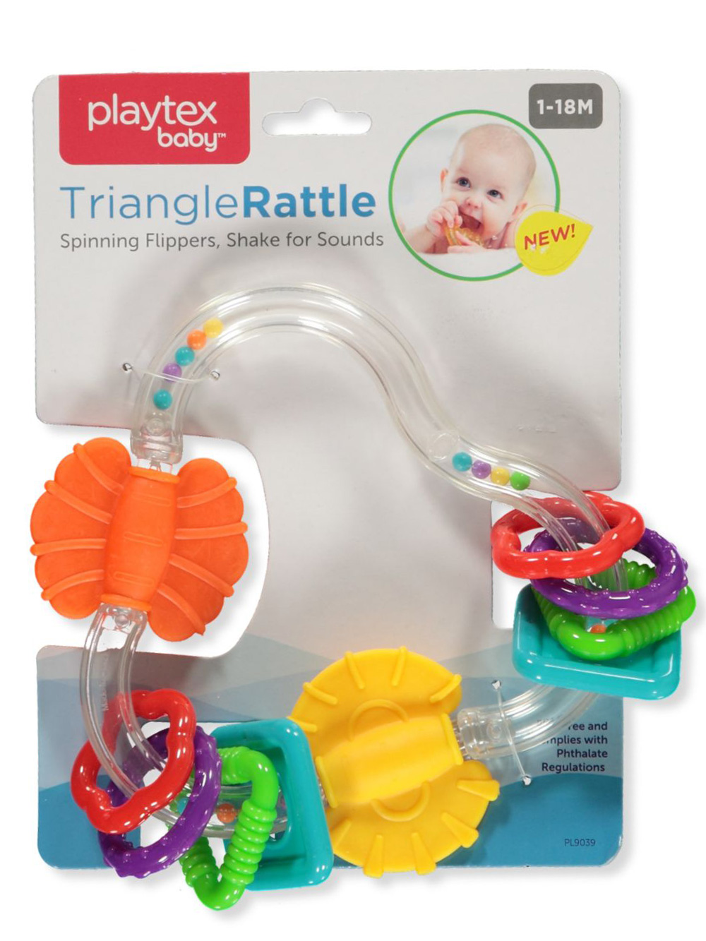 Playtex Teethers and Rattles