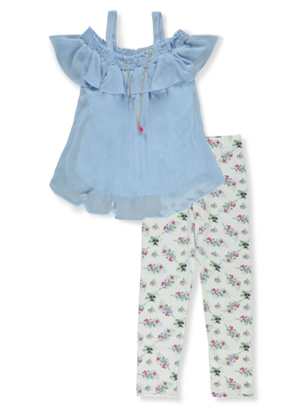 Girls Blue Pant Sets