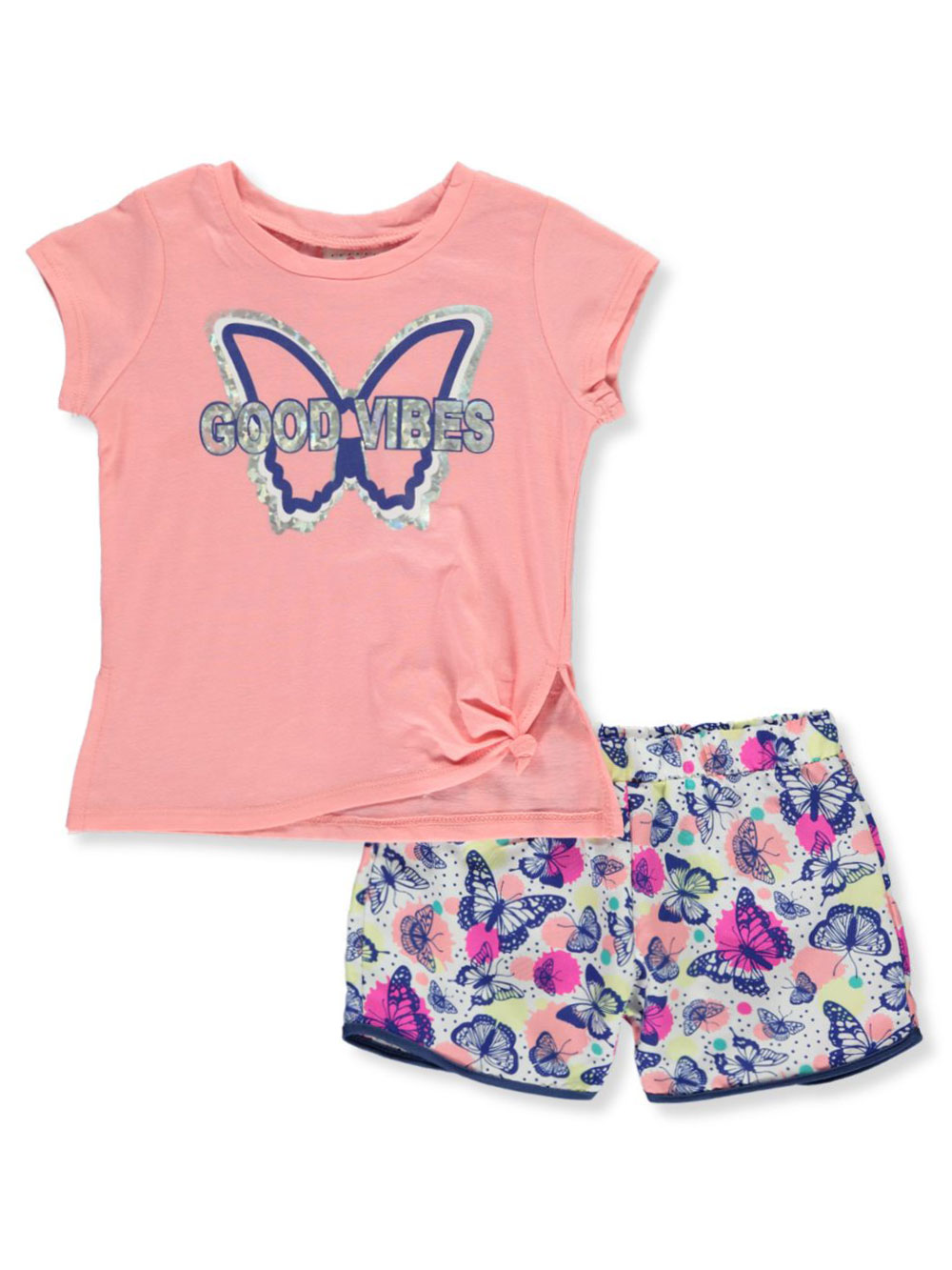 Vibes 2-Piece Shorts Set Outfit