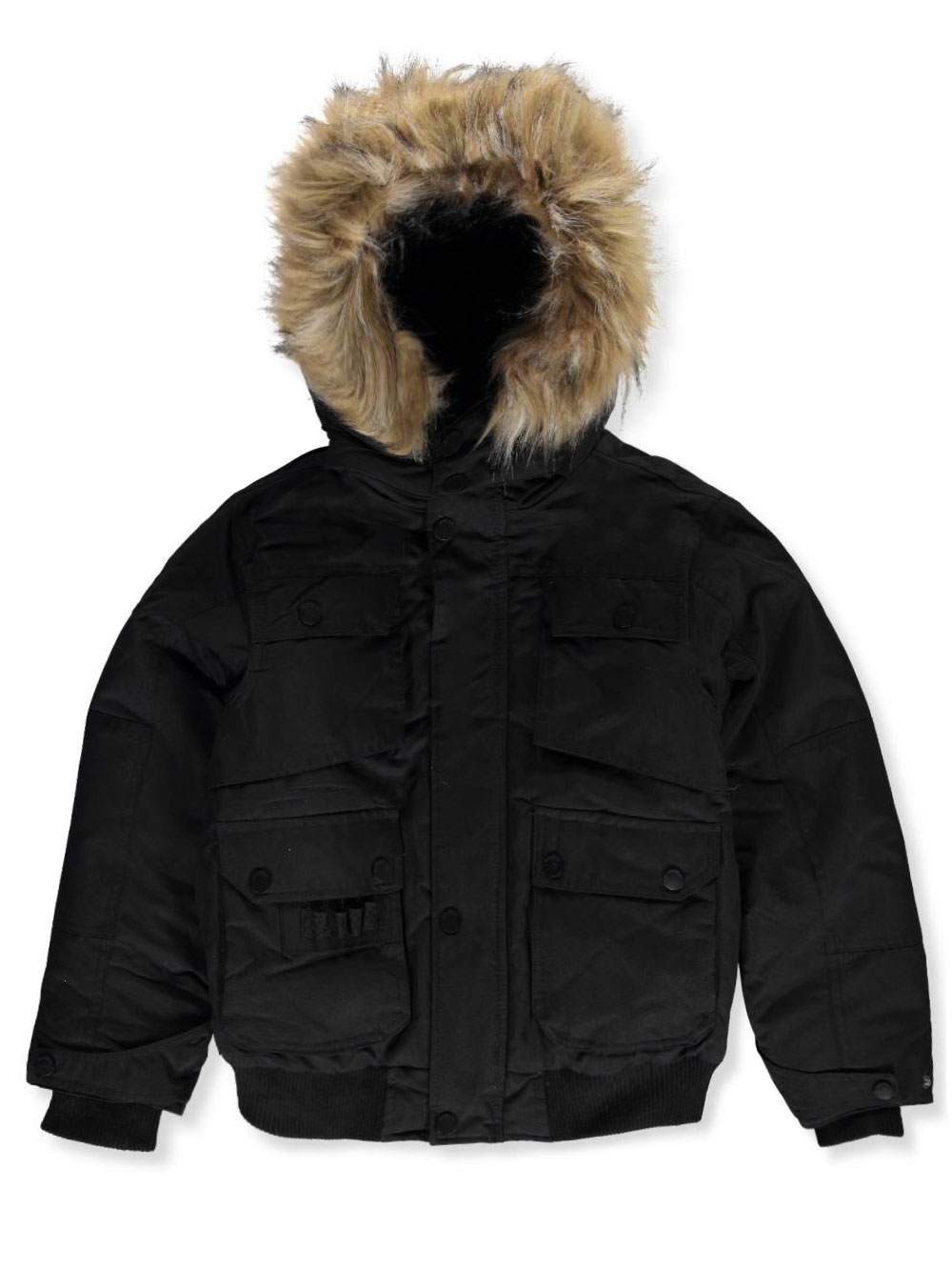 Boys Black Jackets Coats