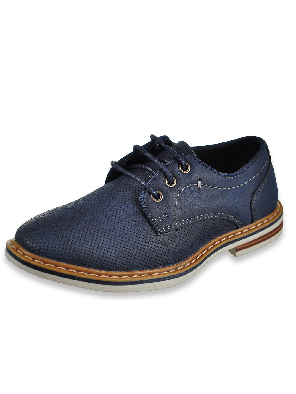 Boys' Lace-Up Loafers
